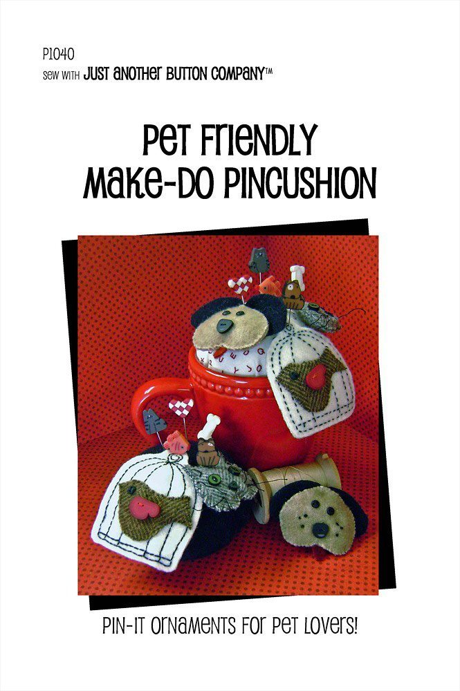 JABC - Pincushion Patterns - Pet Friendly