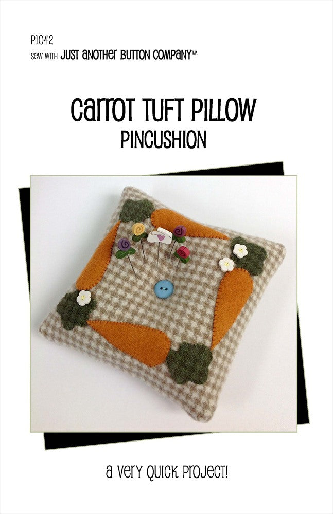 JABC - Pincushion Patterns - Carrot Tuft