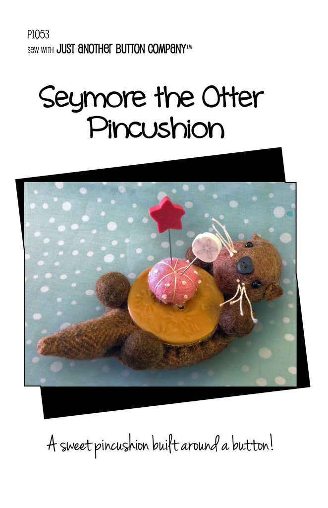 Seymore the Otter Pincushion Pattern