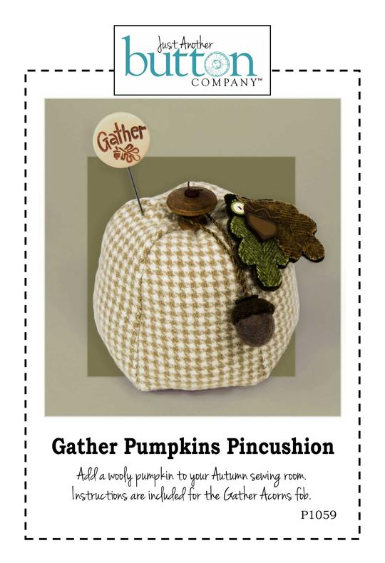 JABC - Pincushion Patterns - Gather Pumpkins