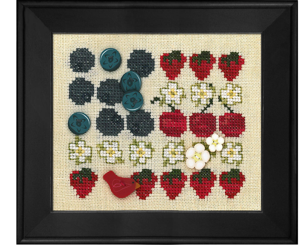 Red, White and Blueberry (includes free chart)