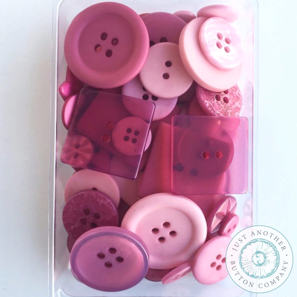 Just Another Button Company | Rose Party Pack