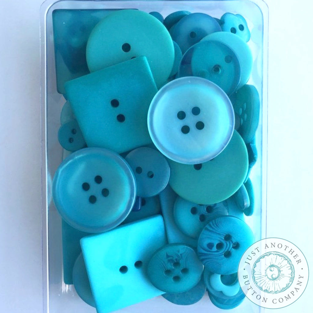 Just Another Button Company | Teal for Two Party Pack