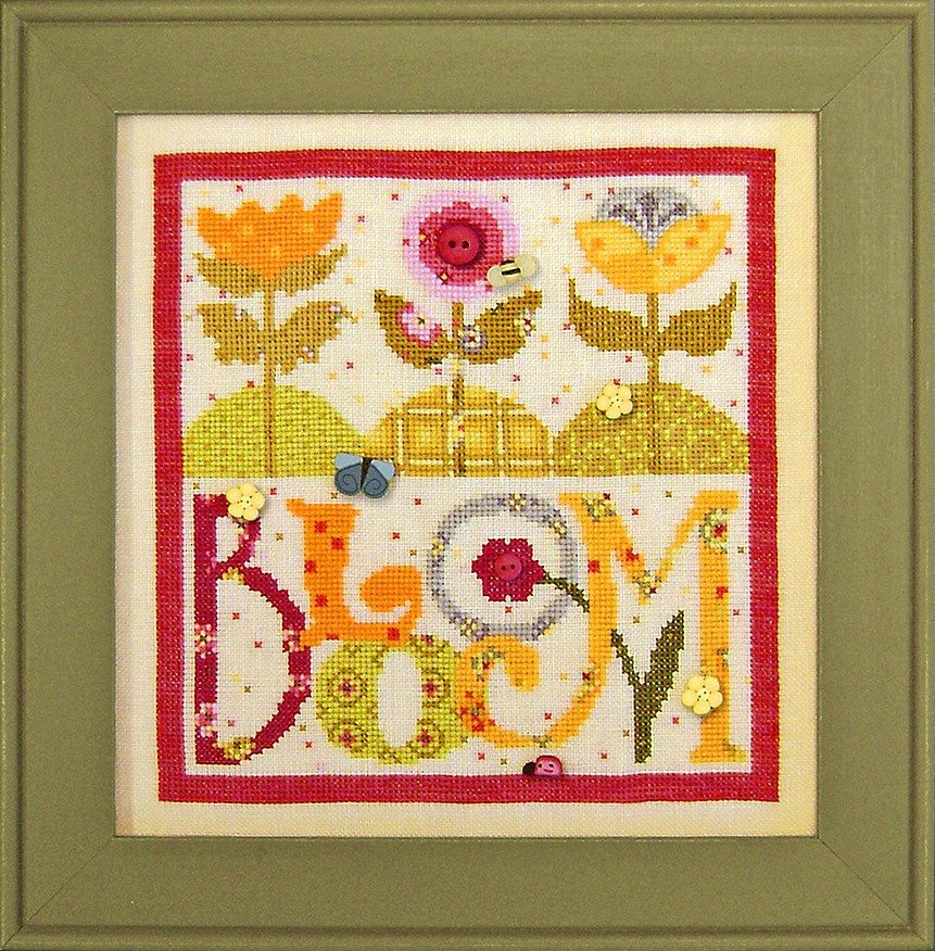 JABC - Cross Stitch Patterns - Bloom