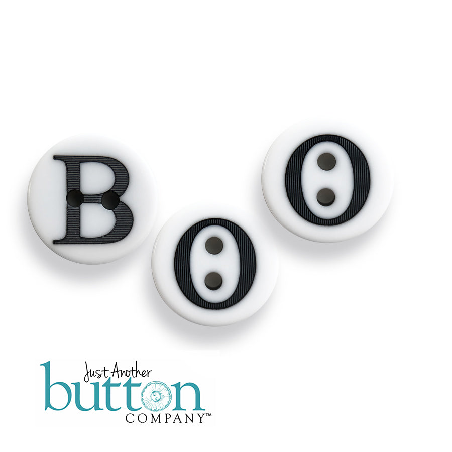 JABC - BOO alpha button set