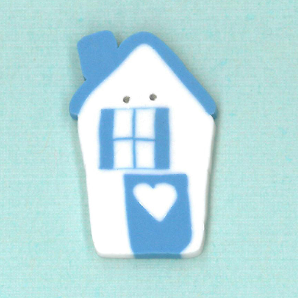 cottage - blue & white