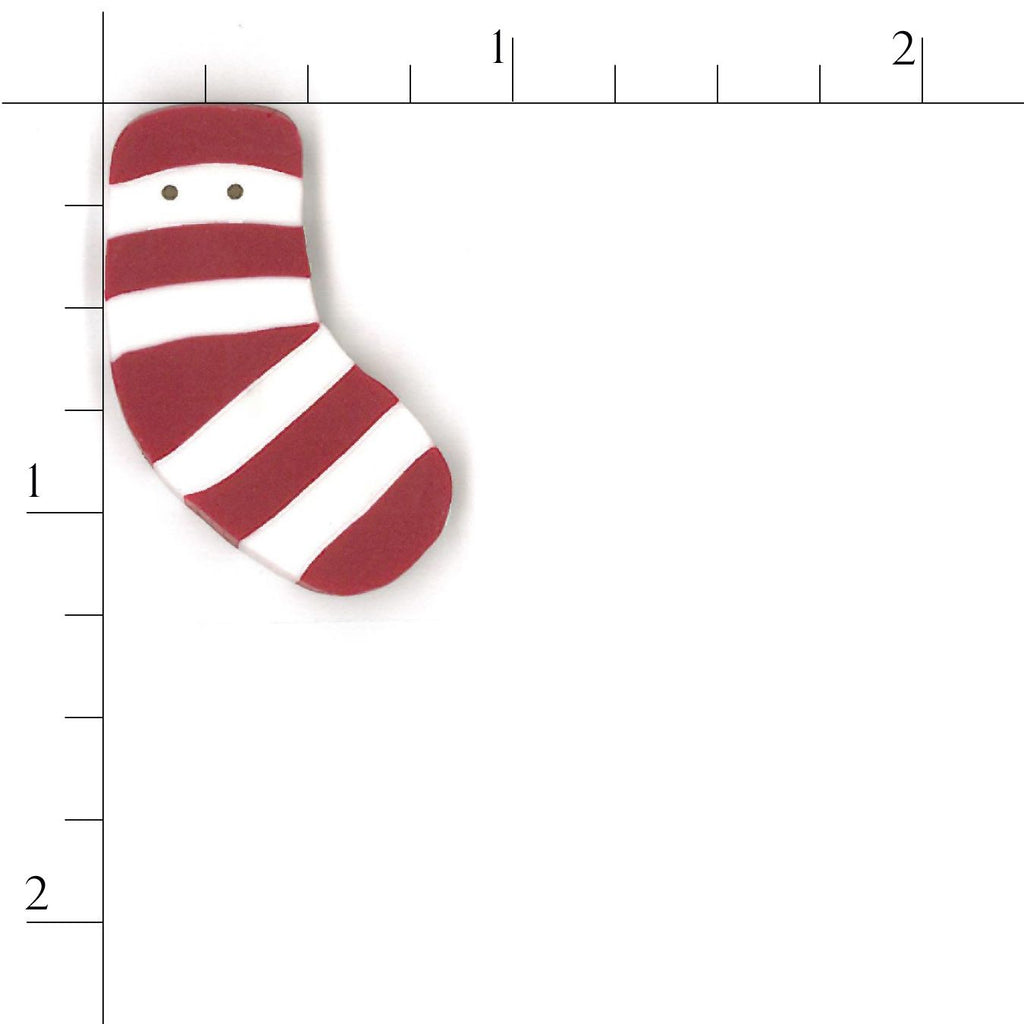 small red striped stocking