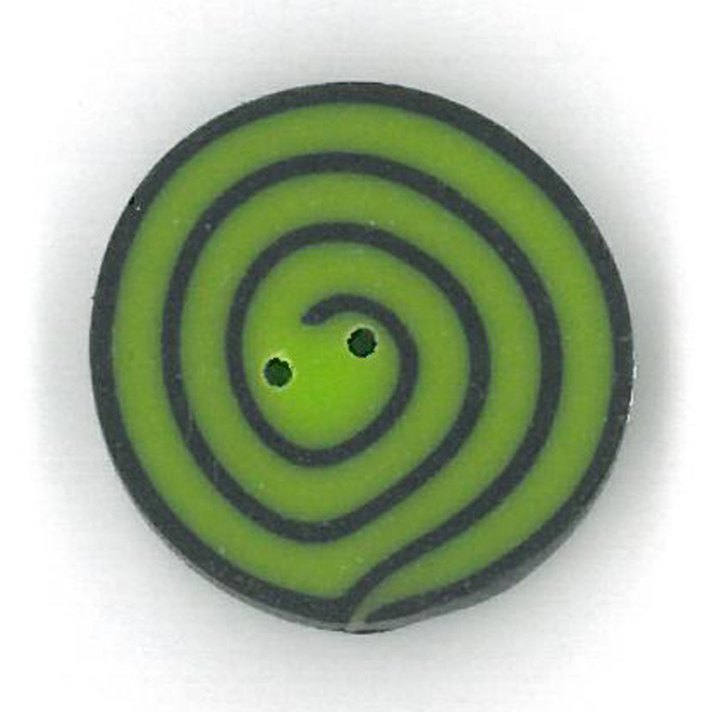 small lime & black swirl