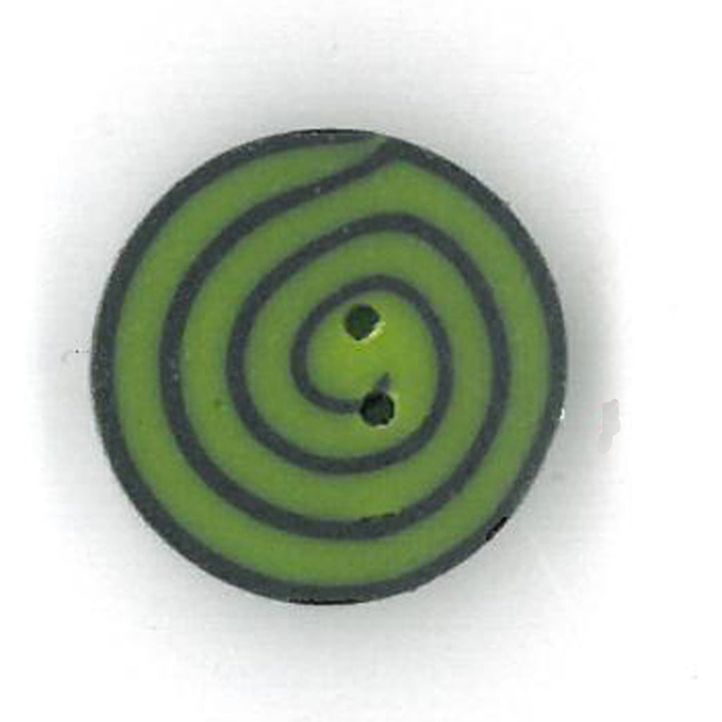 tiny lime & black swirl