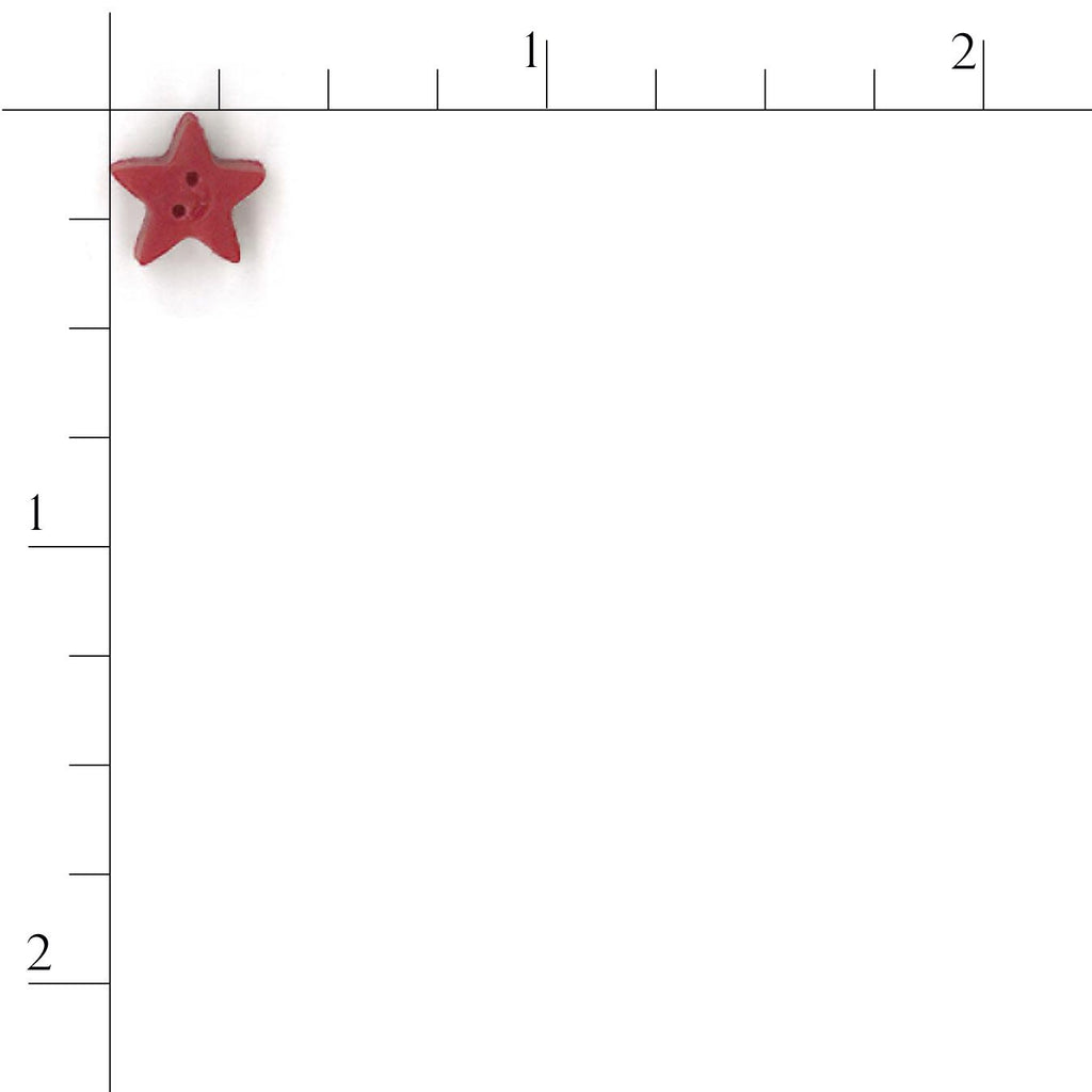 small red star