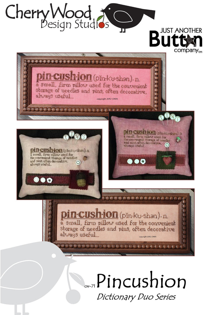 JABC - Cross Stitch Patterns - Pincushion Definition