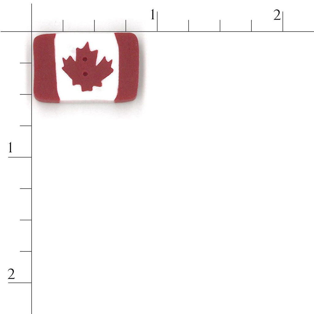 tiny Canadian flag