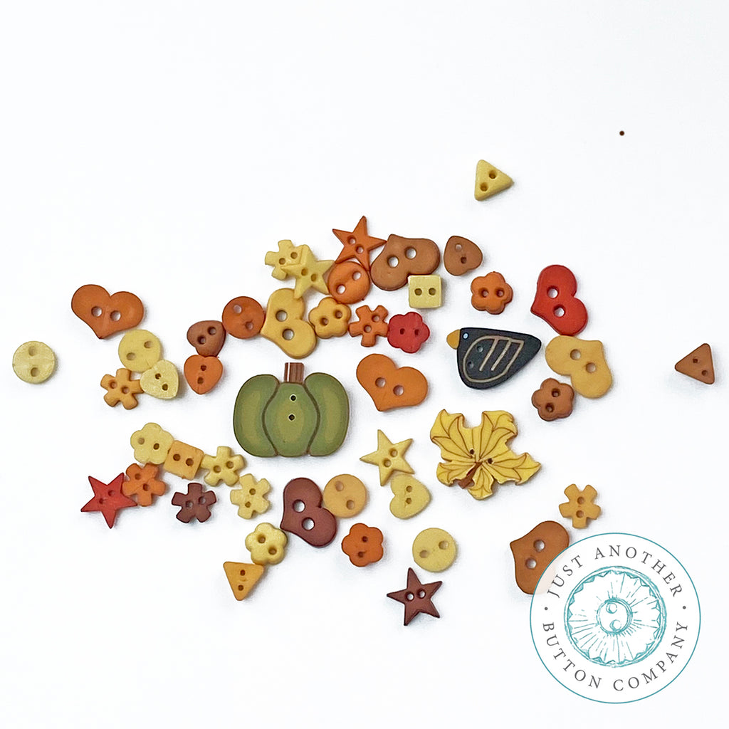 Fall Blackbird Mix - Just-for-Fun Button Collection