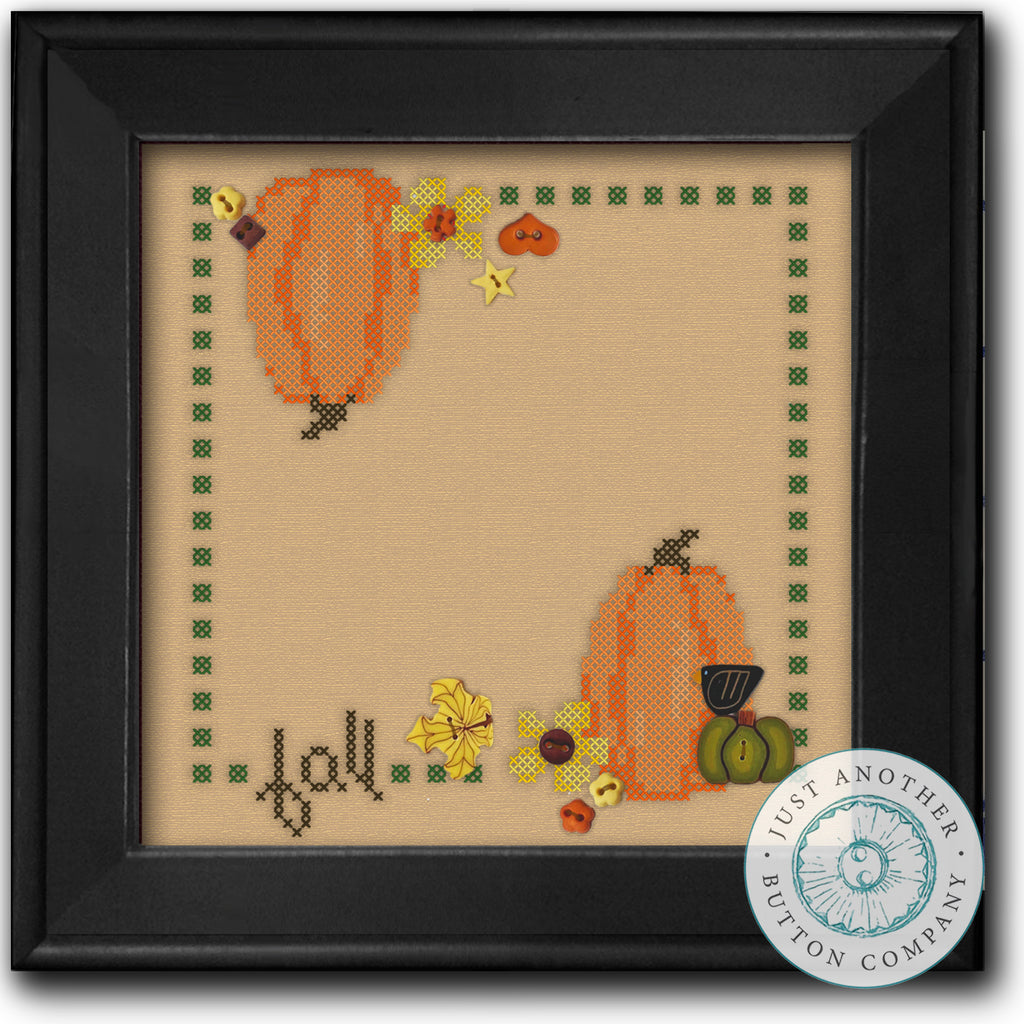 Fall Square for Cross Stitch