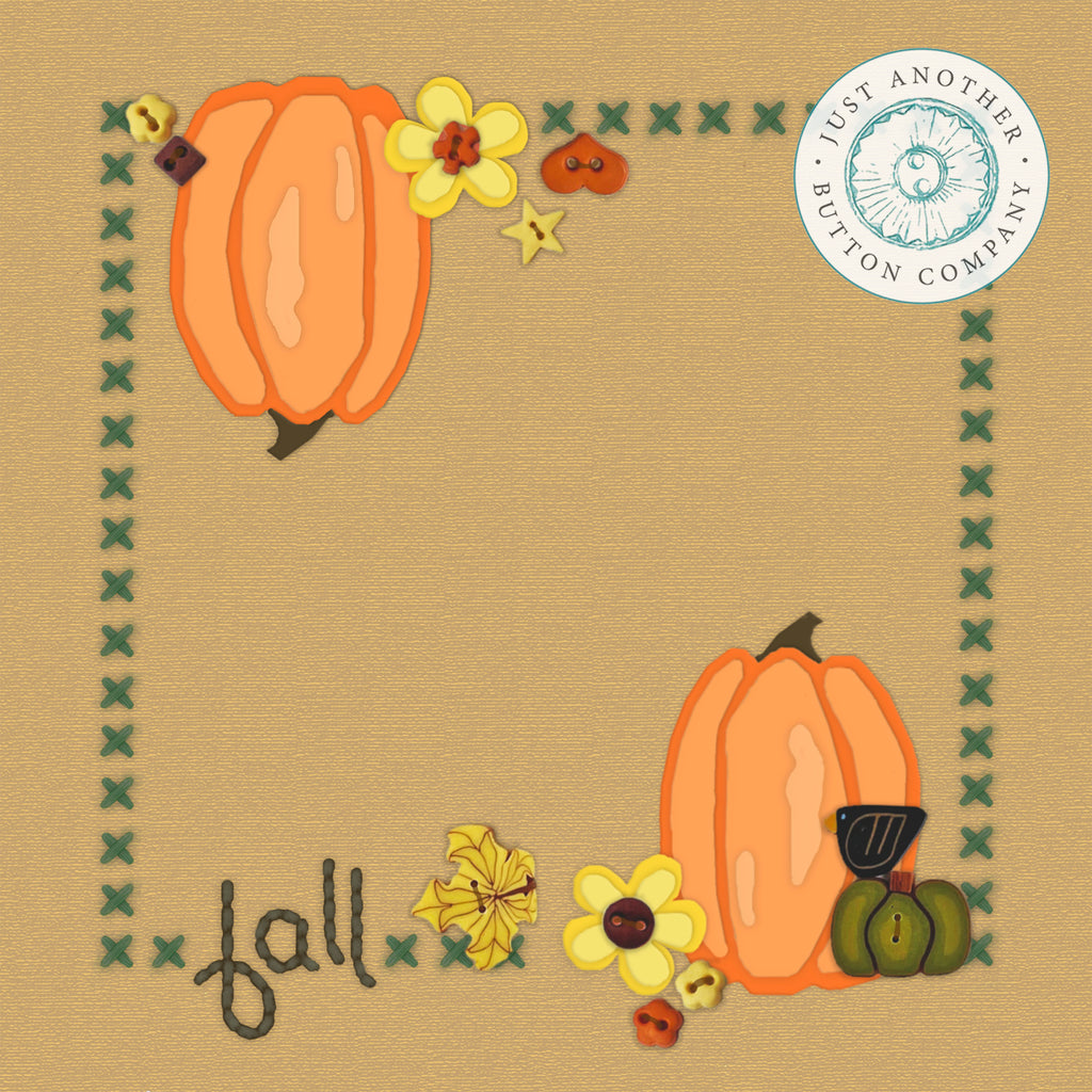Fall Square for Applique