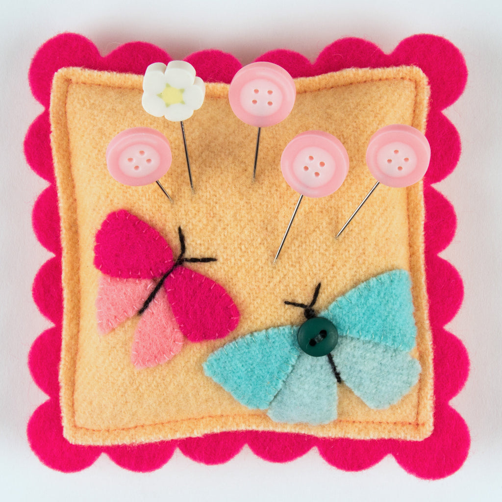 JABC - Pincushion Kit - Flutterby