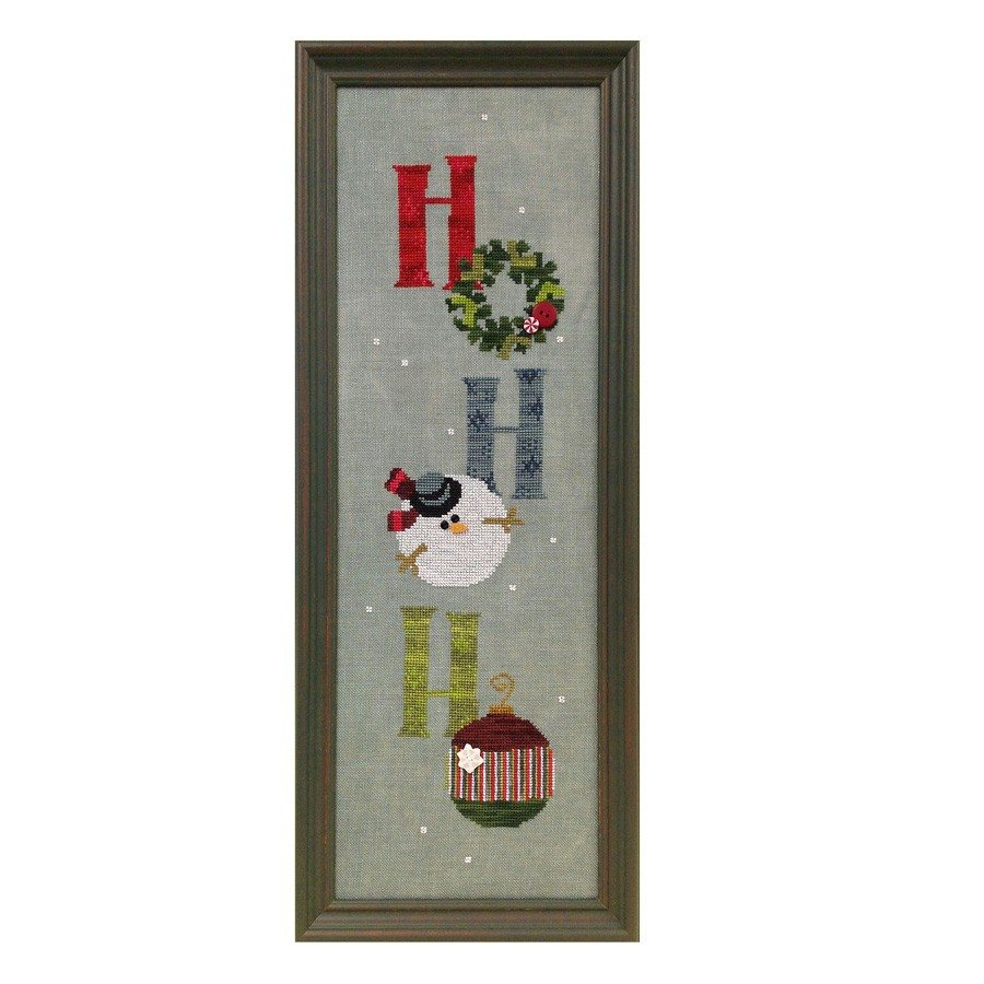 JABC - Cross Stitch Patterns - Ho Ho Ho