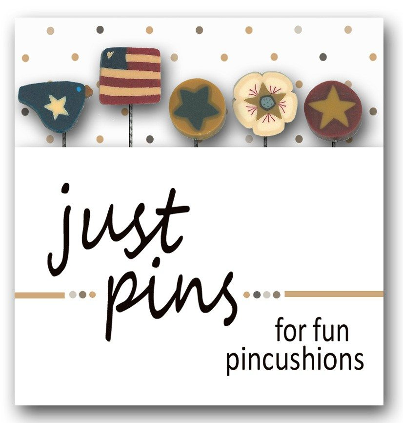 JABC - Just Pins - US Patriotic Assortment