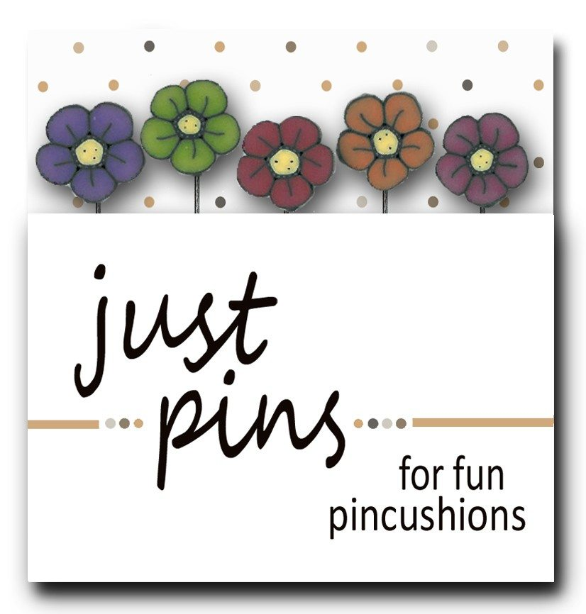 JABC - Just Pins - Flower Power