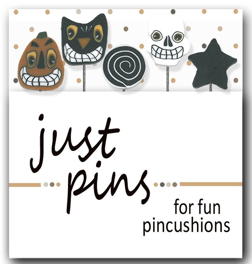 Just Another Button Company - spooky decorative pins