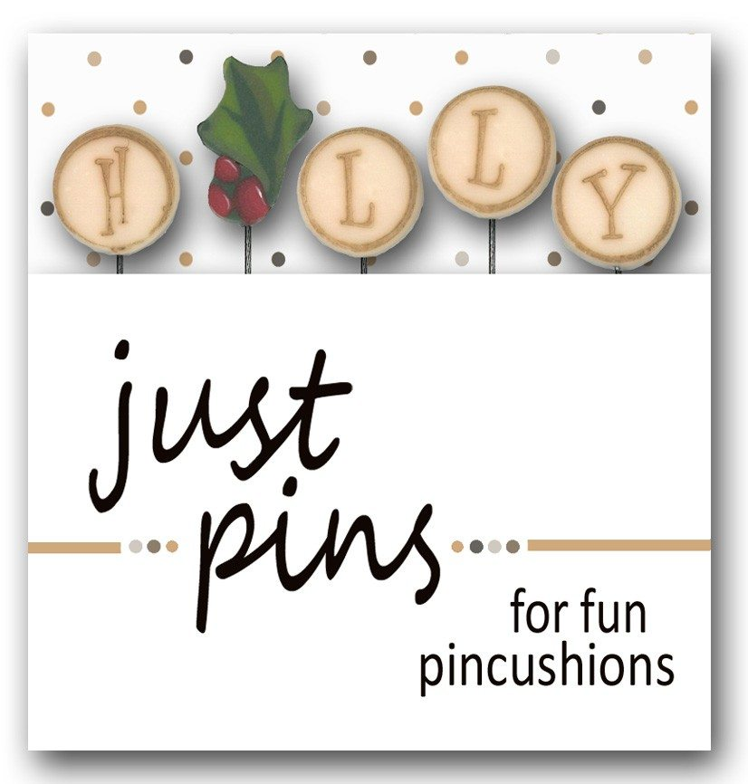 just another button company pin pack h is for holly