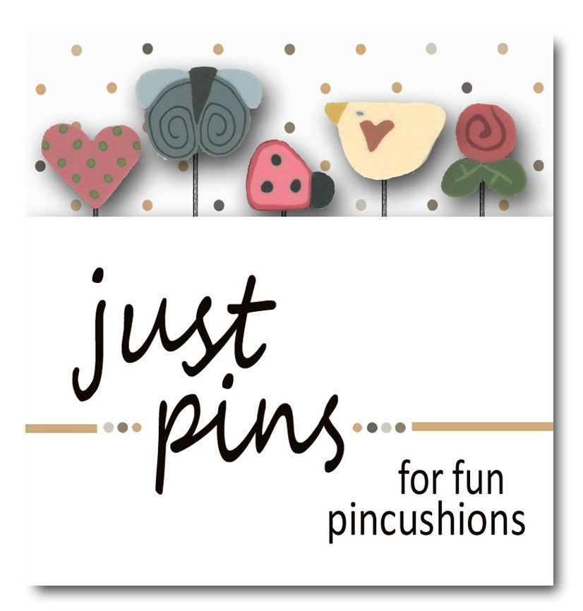 Just Another Button Company pin pack love is in the air