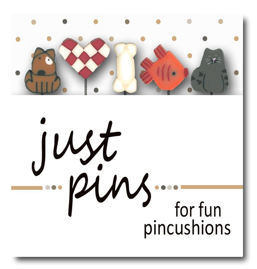 Just Another Button Company pin pack pet shop