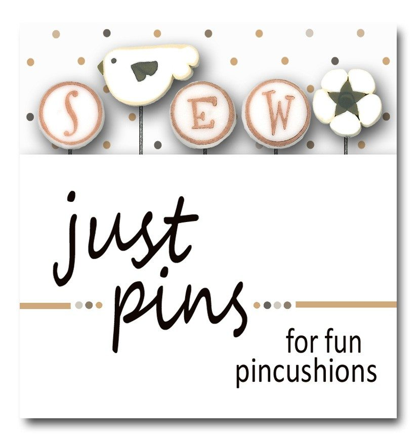 JABC - Just Pins - S is for Sew