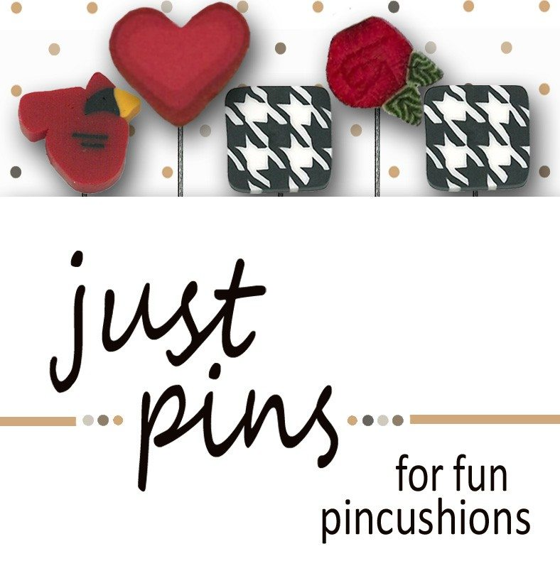 Just Pins ; Classic Red & Black