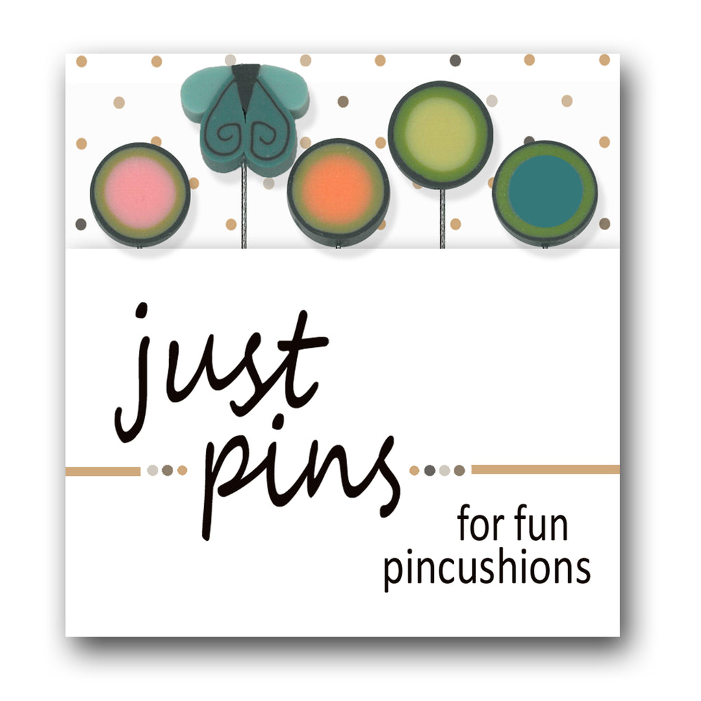 JABC - Just Pins - Butterfly Dots