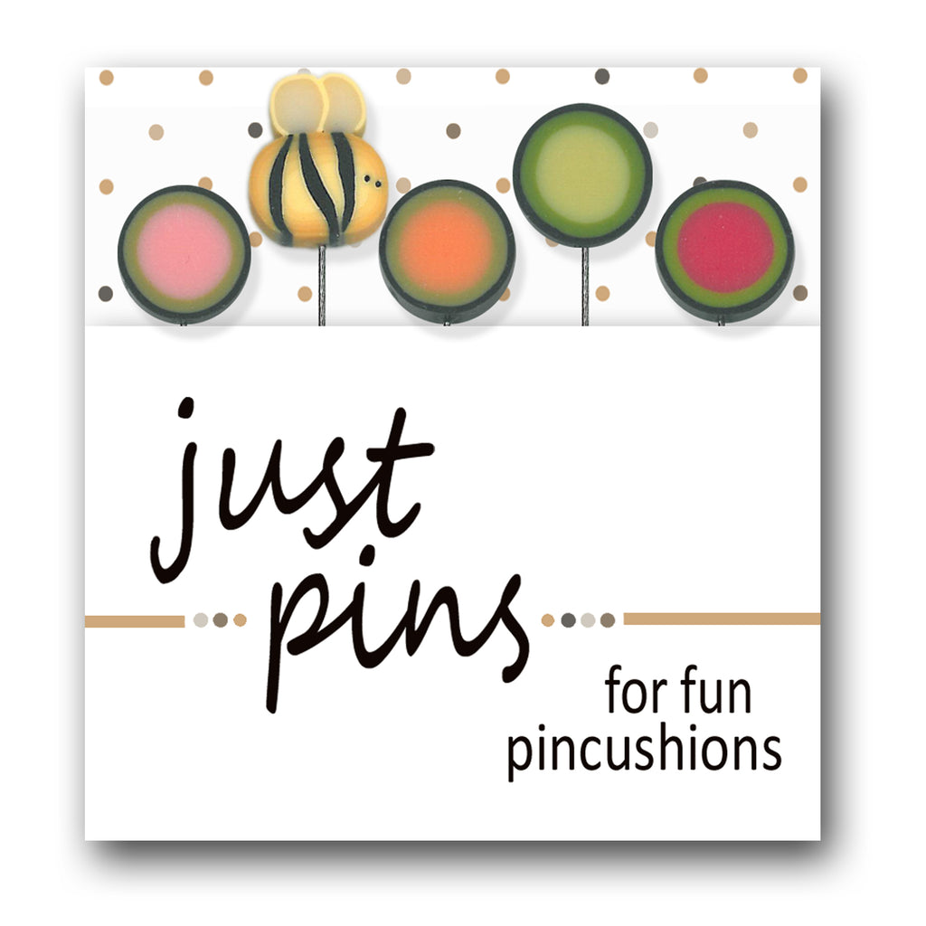 Just Pins - Buzzin' By