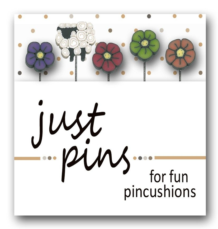 JABC - Just Pins - Shepherd's Wildflowers