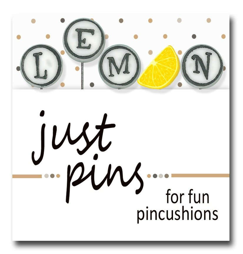 Just Pins - L is for Lemon