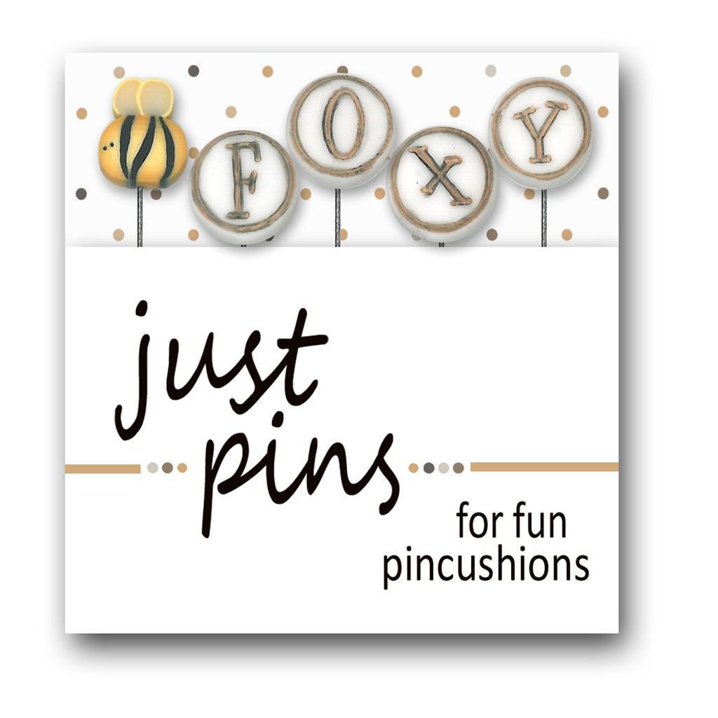 JABC - Just Pins - Bee Foxy