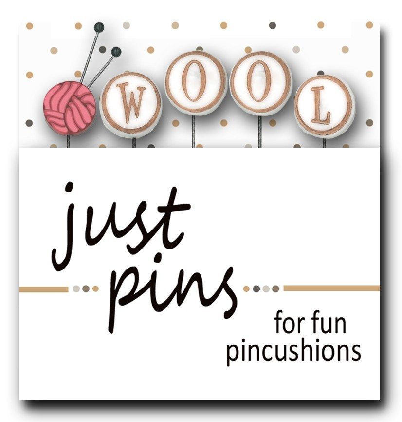 Just Pins - W is for Wool