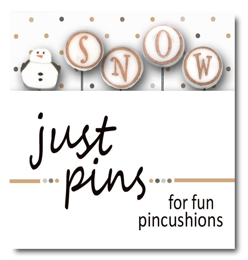 JABC - Just Pins - S is for Snowman