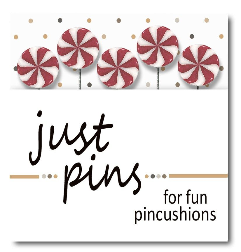 just another button company pin pack just peppermint swirl