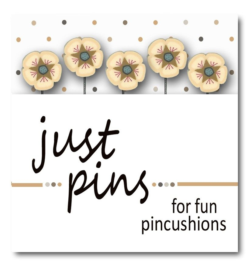 JABC - Just Pins - Just Cream Posies