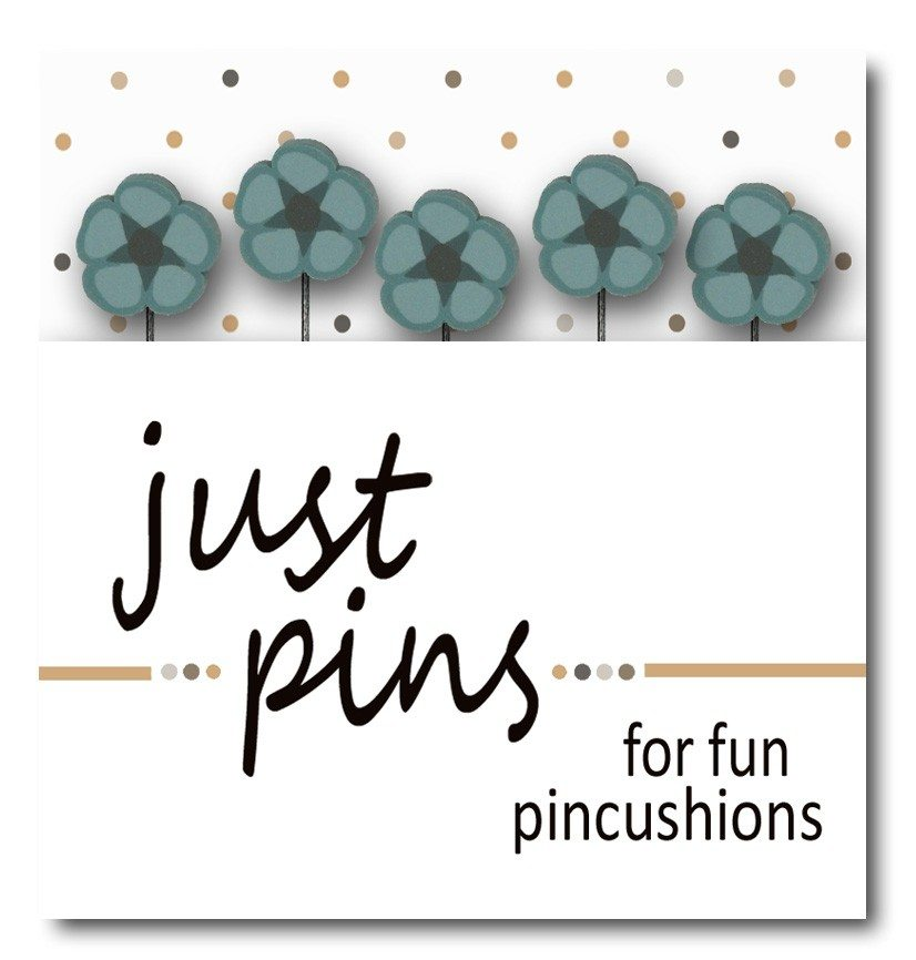 JABC - Just Pins - Just Williams Blue Flower