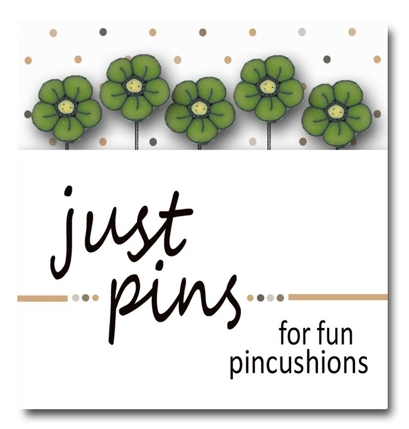 JABC - Just Pins - Just Lime Wildflowers