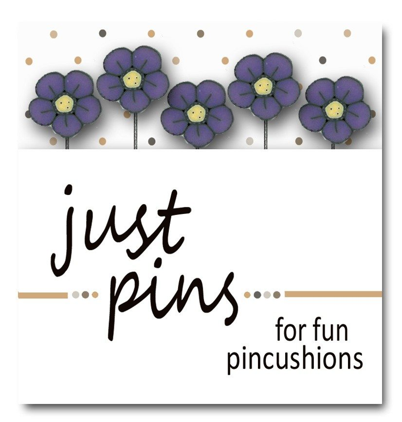 JABC - Just Pins - Just Violet Wildflower