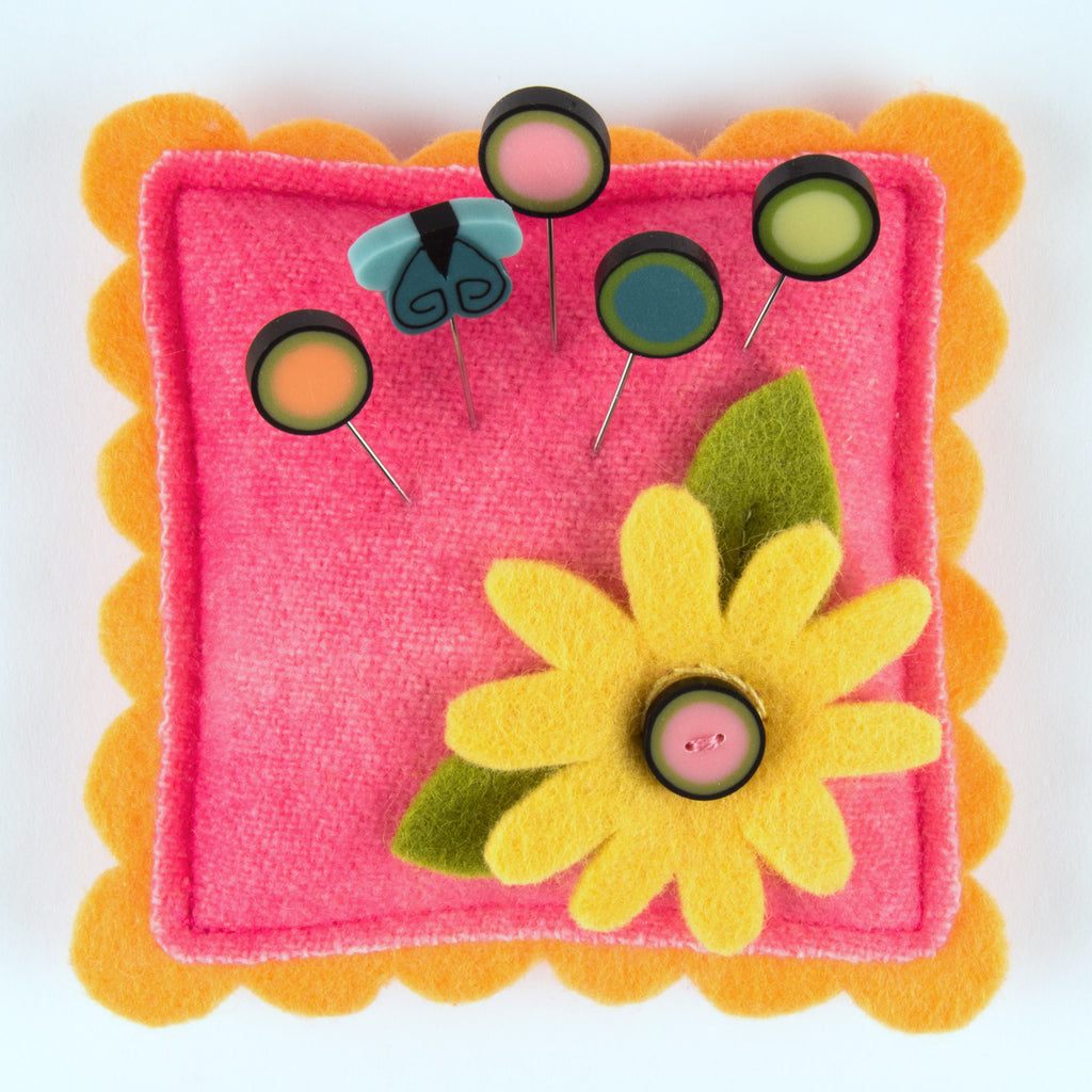 JABC - Pincushion Kit - Lazy Daisy