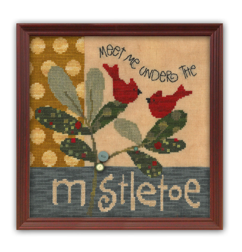 JABC - Cross Stitch Patterns - Meet Me Under the Mistletoe