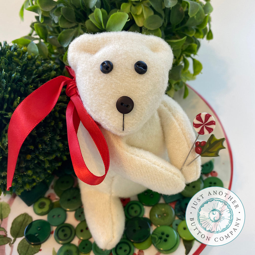 Merry Bear Pincushion PDF