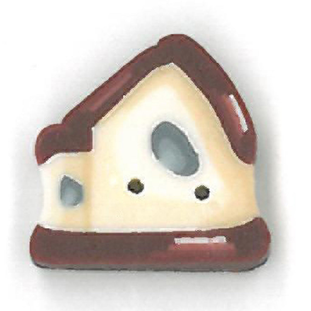 small red roof birdhouse
