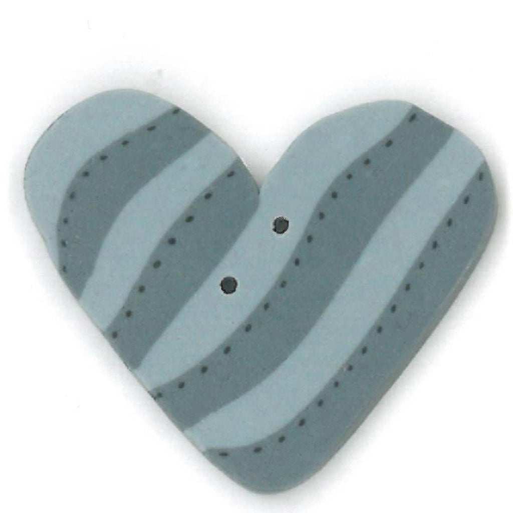 blue striped heart