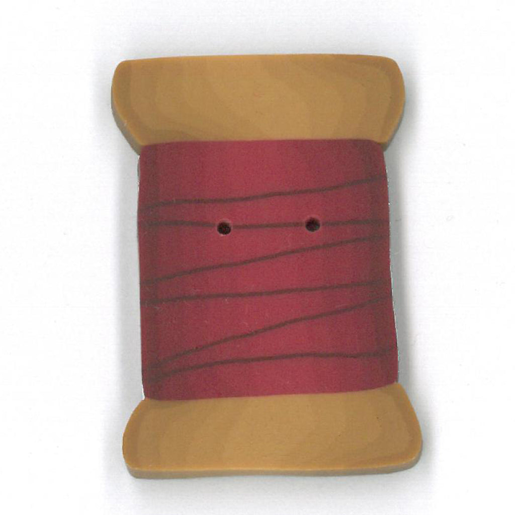 extra large cherry red spool