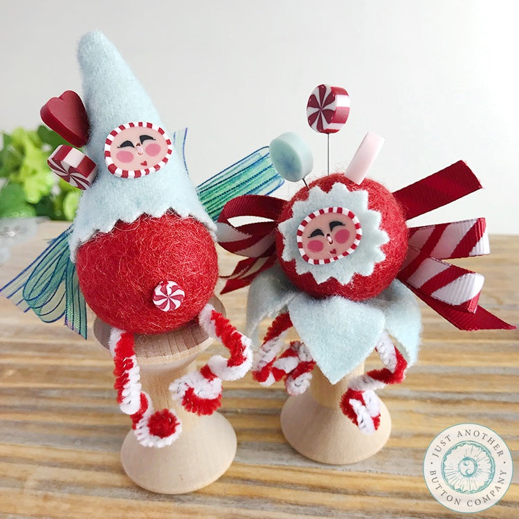 Peppermint Fairy Pincushion PDF