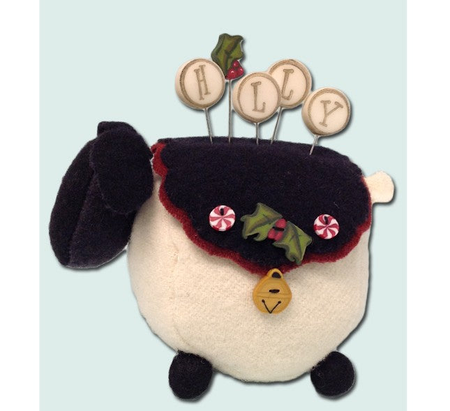 Ewe Look Fabulous! for the Holly-days Pincushion Kit
