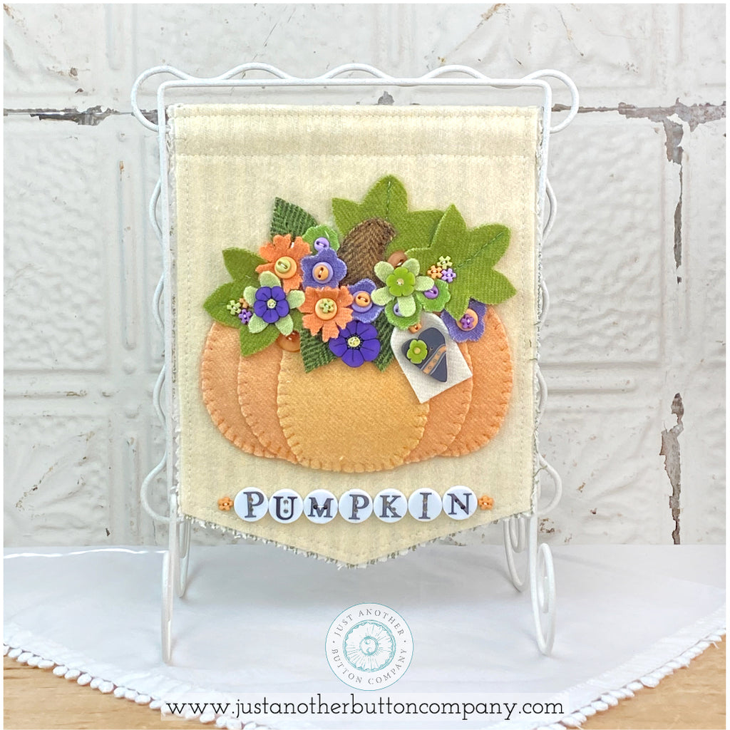 Pumpkin Bouquet Pattern PDF